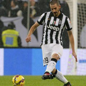 Juventus-Empoli, Bonucci in campo