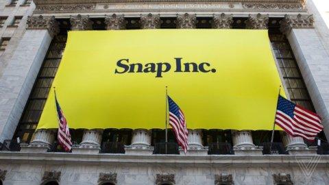 Snapchat sprofonda: rosso quadruplicato, titolo -14%