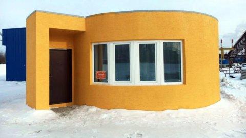 Costruire una villetta, con la stampante 3D costa 9.500 euro (VIDEO)