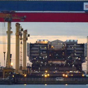 Fincantieri: 50+1 per cento di Stx agli italiani