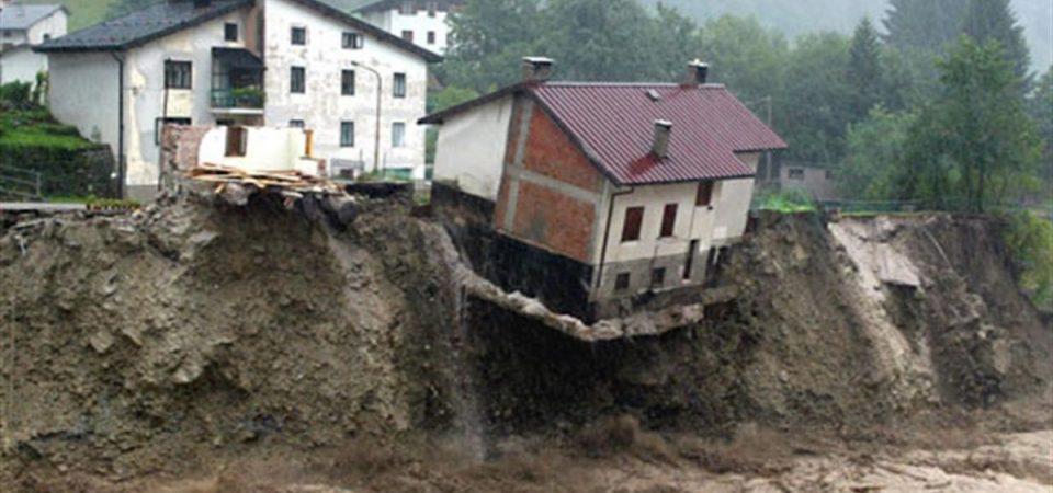 Rischio idrogeologico: arrivano i primi fondi