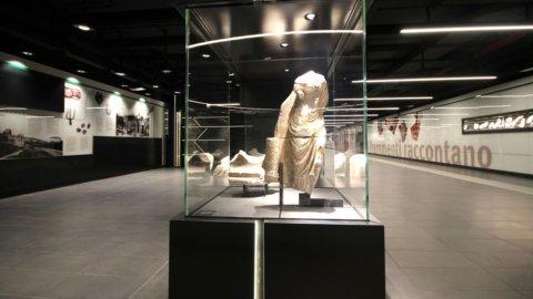 Roma, metro C: aperta la stazione museo di San Giovanni (VIDEO)