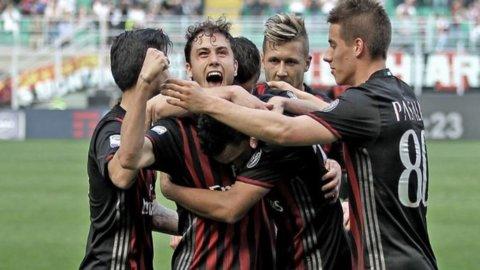L'Inter crolla con il Crotone, il Milan la sorpassa e vede l'Europa