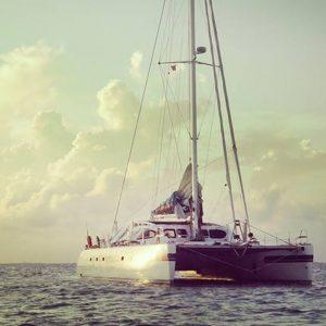 Stella,  in catamarano da Miami a Trieste per i diritti dei disabili