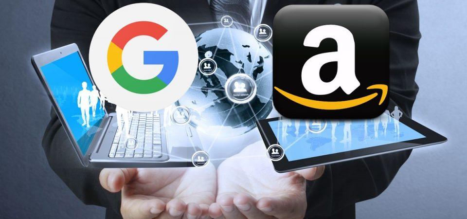 Amazon-Wall Foods, Google-Walmart: è guerra tra i colossi tech