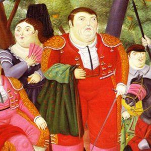 """Botero a Roma con il gigantesco """"Cavallo con briglie"""" di bronzo"""