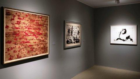 Venezia, Guggenheim Collection: Mark Tobey. Luce filante