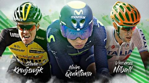 Giro, Etna: Nibali e Quintana deludono