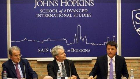 Renzi e Prodi, la strana coppia En marche per cambiare l'Europa