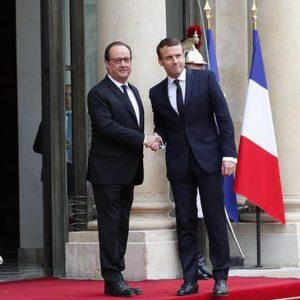 Francia: Macron all'Eliseo, lunedì il premier