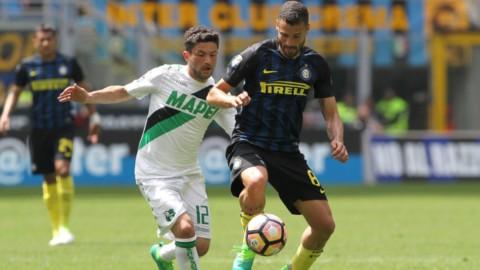 L'Inter sprofonda col Sassuolo: Europa addio