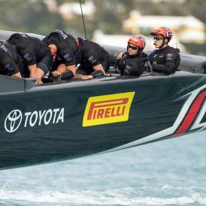 America's Cup 2017: Pirelli sponsor del Team Emirates New Zealand