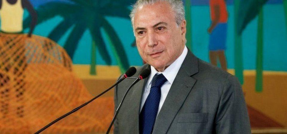 Brasile, Temer nei guai: autorizzò tangenti
