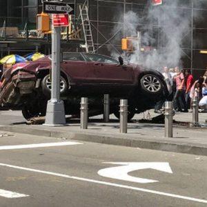 """New York, auto su folla: """"Non è terrorismo"""""""
