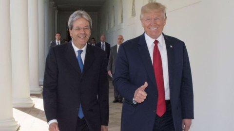 G20: Trump telefona a Gentiloni