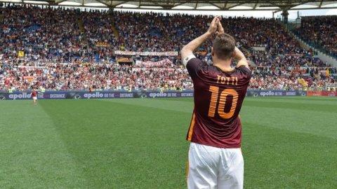 Roma, oggi è il Totti Day: addio a una leggenda del calcio