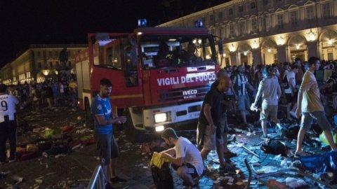 Juve, Torino: mille feriti in piazza