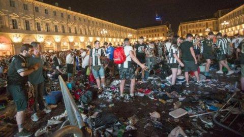 Torino, panico in piazza: oltre 1.500 feriti