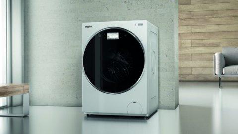 Whirlpool, la lavatrice touch control come lo smartphone