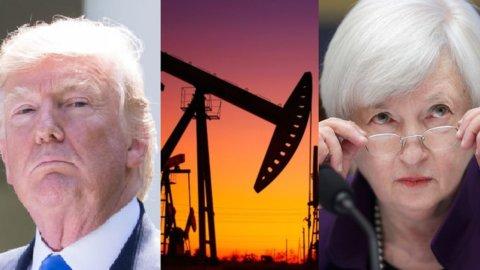 Fed, Trump e petrolio stendono le Borse