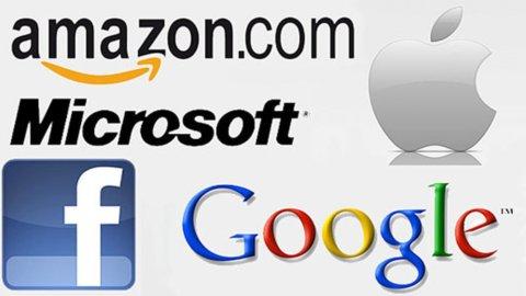 I giganti del Web valgono 8 volte Piazza Affari