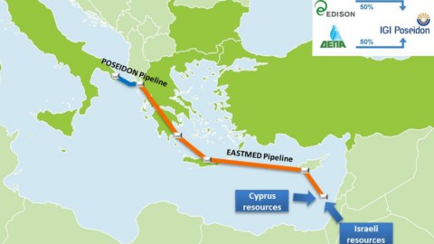 EastMed, nuovo gasdotto tra Israele e Europa: vale 6 miliardi