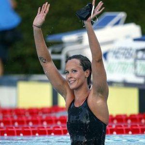 Nuoto, show di Paltrinieri e Pellegrini