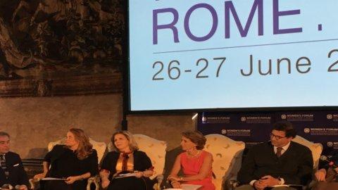 Women's Forum Roma 2017: donne alla carica su clima e inclusione
