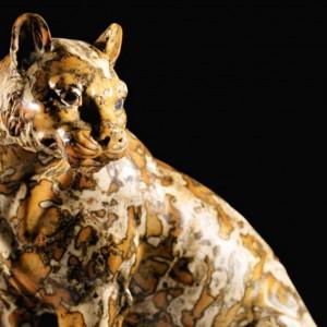 Parigi, all'asta leopardo della collezione di Madame Djahanguir Riahi