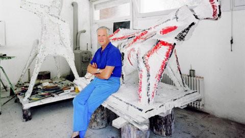 Fotografia, immagini di Amendola dedicate allo scultore Marini