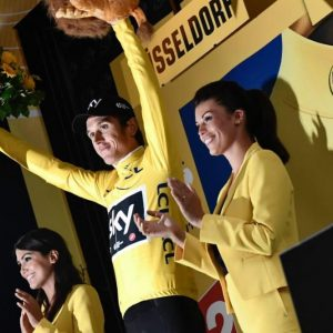 Tour de France: Thomas in giallo