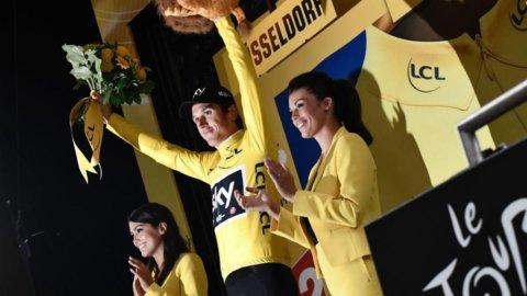 Tour de France: Thomas in giallo