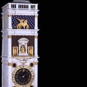 Torre dell'orologio di Venezia, un modello all'asta per € 715.000/950.000