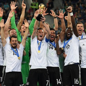 Alla Germania anche la Confederations Cup