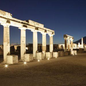 Enel: nuovo percorso di luci e suoni per Pompei