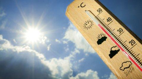 Meteo: caldo a 40 gradi in tutta Italia