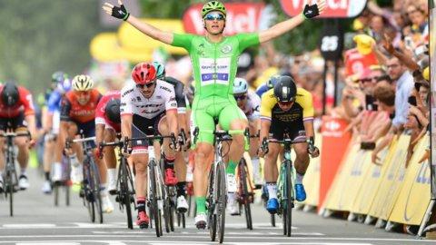 Tour de France: poker Kittel, giovedì i Pirenei