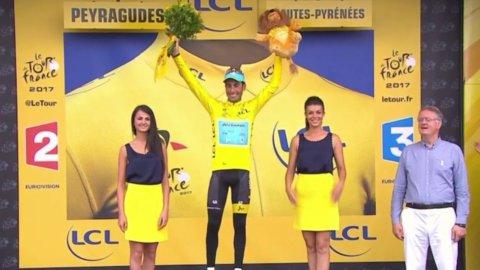 Tour, Aru in giallo ma Astana decimata