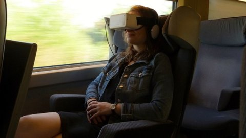 """Treni, sul Tgv Italia-Francia il cinema """"immersivo"""" in 3D"""