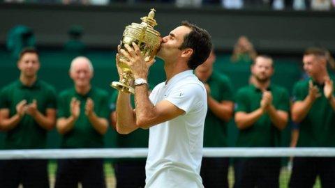 Wimbledon, Federer è leggenda: ottavo titolo