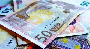 soldi in banconote di euro