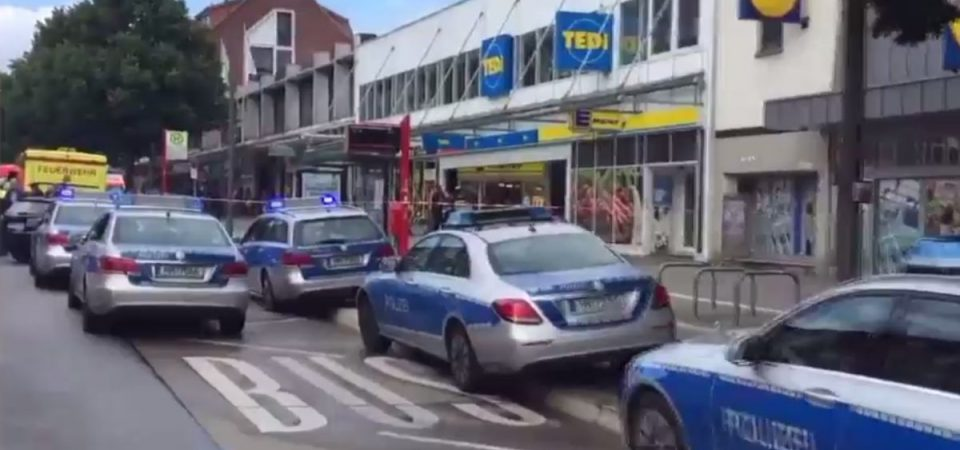 Amburgo: attacco in un supermarket