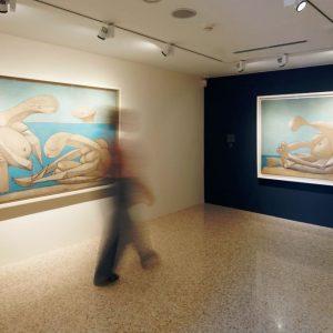Picasso sulla spiaggia alla Collezione Peggy Guggenheim