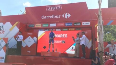 Vuelta: Trentin fa tris, weekend in montagna