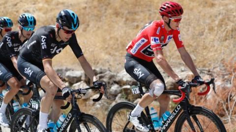Vuelta: Froome stacca Nibali di 21″