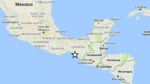 Messico: terremoto 8.2 e rischio tsunami