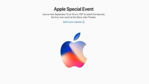 Apple svela iPhone X e punta ai 180 dollari a Wall Street