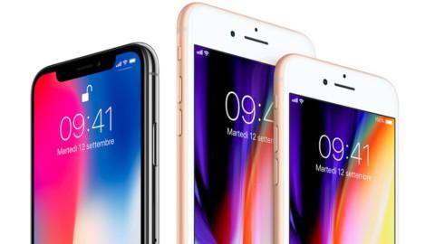 Tim, Vodafone, Wind: dal 22 settembre iPhone 8 e 8 Plus