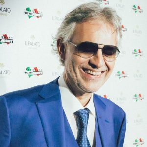 Celebrity fight night in Italy 2017: Il Palato Italiano con Andrea Bocelli