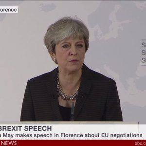 "Brexit, May: ""Serve un accordo creativo sul commercio"""